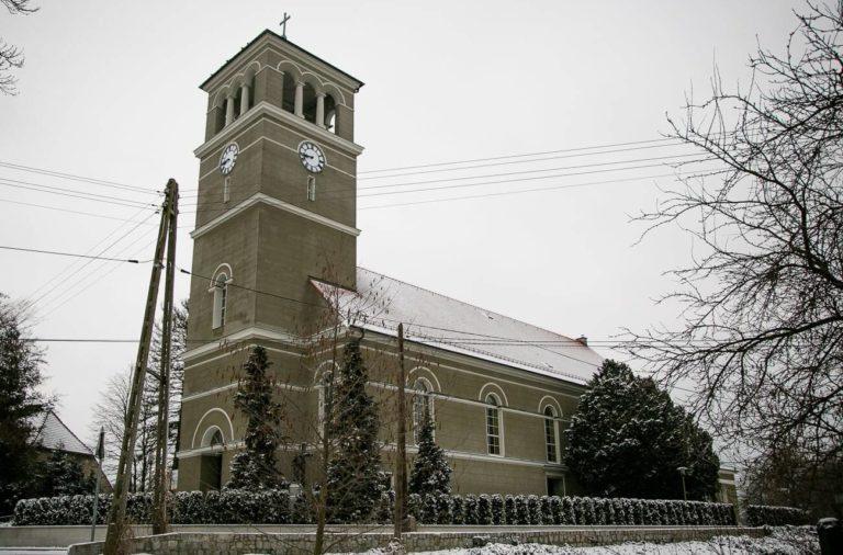 Kościół w Starych Siołkowicach Zima 2018